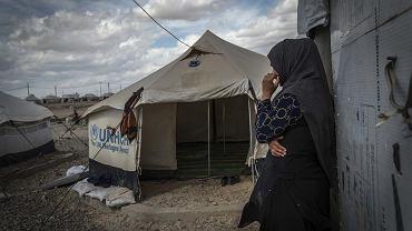 Obóz Salamija dla wewnętrznych irackich uchodźców