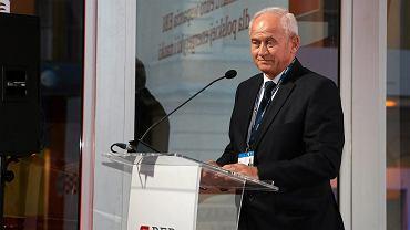 Minister energii w rządzie PiS Krzysztof Tchórzewski podczas XXVII Forum Ekonomicznego. Krynica, 5 września 2017 r.