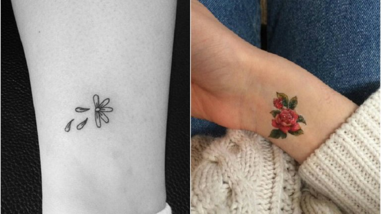 Delikatne tatuaże, które pokocha każda dziewczyna