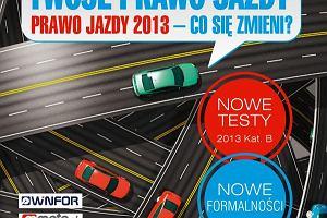 """P�yta CD """"Prawo jazdy 2013"""" i kodeks drogowy z """"Gazet� Wyborcz�"""""""