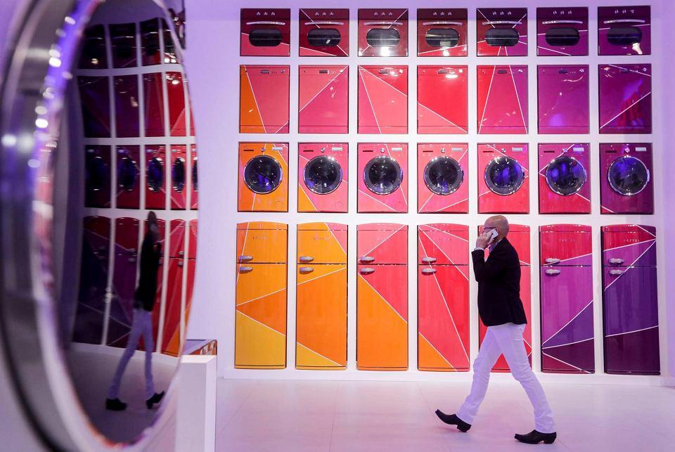 Targi elektroniki IFA w Berlinie. Stoisko firmy 'Vestel'