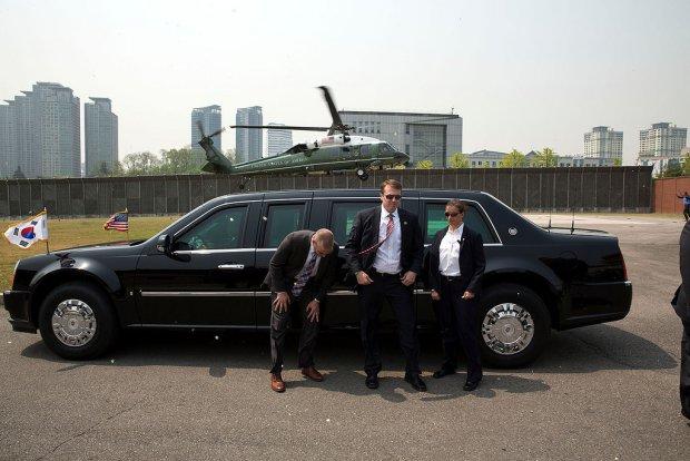 """Samochód, który myśli, że jest czołgiem. Cadillac One, czyli """"Bestia"""" Baracka Obamy"""
