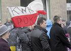 Ruda �l�ska - Nowy Bytom, protest w kopalni