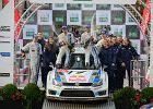 WRC Rajd Wielkiej Brytanii | Podw�jne zwyci�stwo Volkswagena