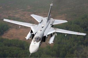 Rozbi� si� rosyjski bombowiec Su-24M. Obaj cz�onkowie za�ogi zgin�li
