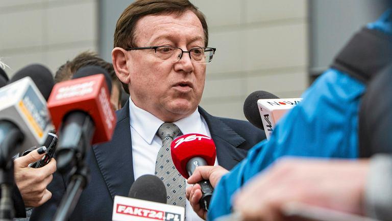 Mecenas Leszek Augustyn, obrońca z urzędu w sprawie nożownika