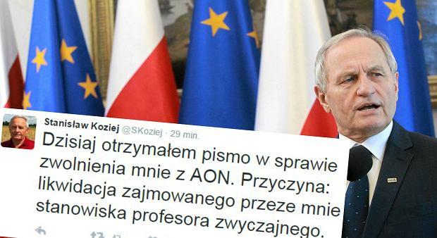 By�y szef BBN genera� Stanis�aw Koziej