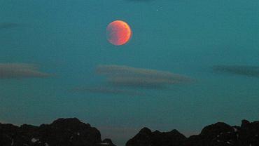 Najdłuższe zaćmienie księżyca 27 lipca 2018.