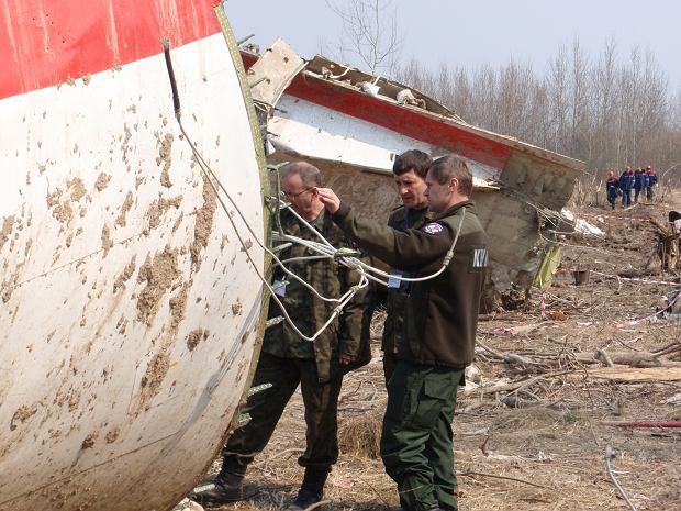 Miejsce katastrofy samolotu prezydenckiego w Smoleńsku