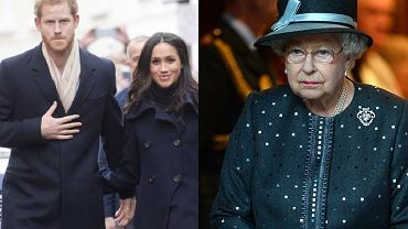 Królowa Elżbieta nie przyjdzie na ślub wnuka