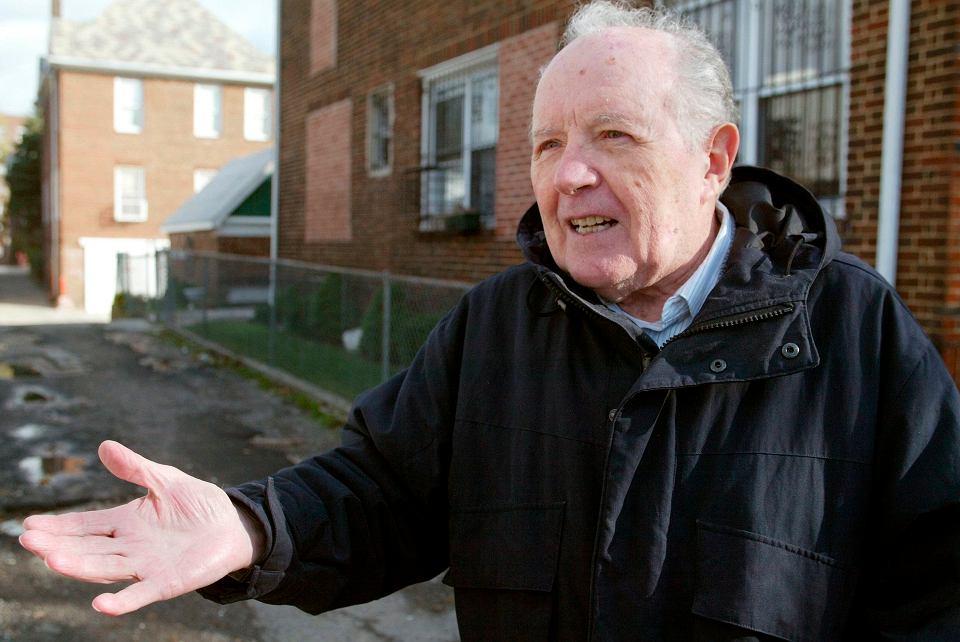 Jakiw Palij (na zdjęciu z 2003 roku), były strażnik obozu koncentracyjnego, został deportowany ze Stanów Zjednoczonych do Niemiec.