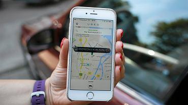 Uber aplikacja