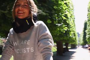 Niewidzialny kask ratuje życie rowerzystom