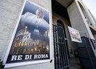 Boss rzymskiej mafii pochowany z pomp�. Jemu Rzym nie odm�wi� katolickiego pogrzebu