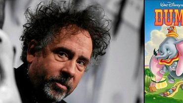 "Tim Burton wyreżyseruje disnejowski klasyk ""Dumbo"""