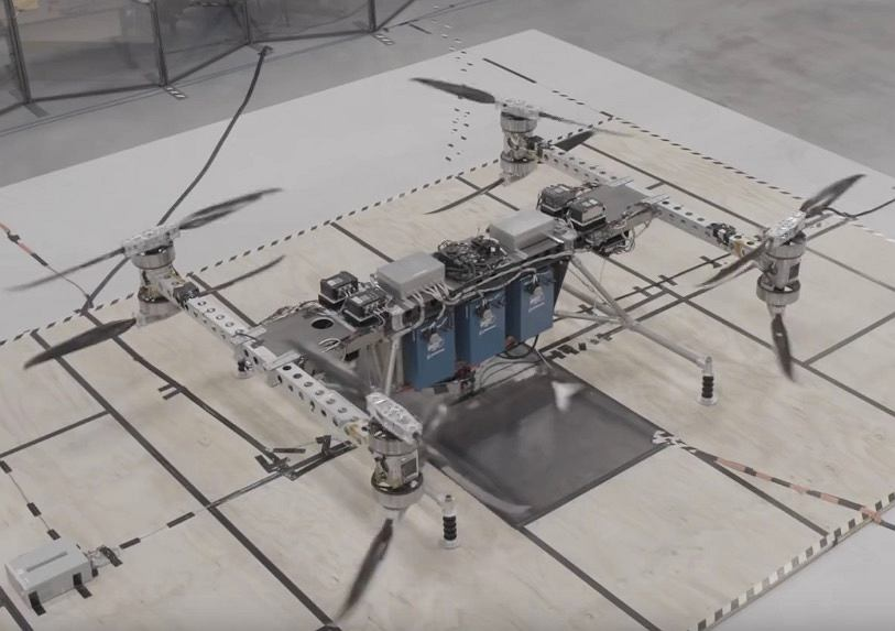 Prototyp drona transportowego Boeinga