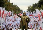 Pomnik Donalda Tuska przejedzie ulicami Gda�ska. W sobot� protest zwi�zkowc�w