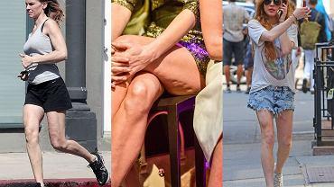 """Jak się okazuje, wiek kobiety zdradzają nie tylko jej dłonie, ale też i nogi. Te gwiazdy wyglądają świetnie, niestety dobry efekt """"psuje"""" kondycja ich nóg. Zobaczcie, które mają """"starsze"""" nogi niż resztę ciała."""