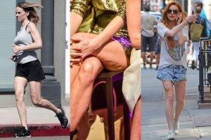Jak się okazuje, wiek kobiety zdradzają nie tylko jej dłonie, ale też i nogi. Te gwiazdy wyglądają świetnie, niestety dobry efekt psuje kondycja ich nóg. Zobaczcie, które mają starsze nogi niż resztę ciała.