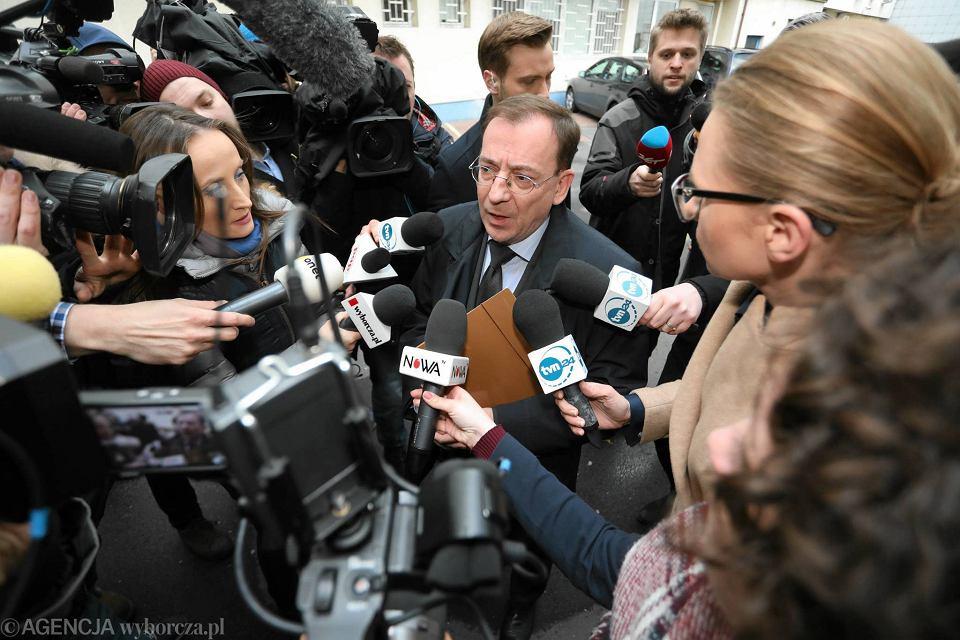 Minister koordynator służb w rządzie PiS Mariusz Kamiński