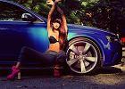 Dziewczyna i samoch�d: Matylda i Audi RS4 Avant
