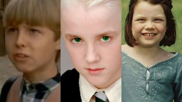 Shawn Toovey, Tom Felton, Georgie Henley
