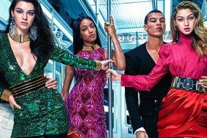 Balmain dla H&M - jest ju� kampania kolekcji z Kendall Jenner i Gigi Hadid. Znamy te� przybli�one ceny [ZDJ�CIA]