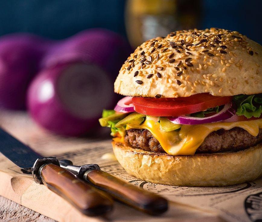 Hamburger prezydenta Obamy