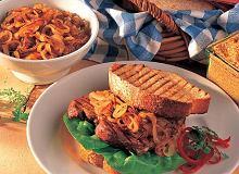 Kanapki z grilla ze stekiem - ugotuj