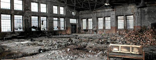 Kiedy� pot�ga, dzi� ruina. Apokaliptyczna sceneria w �rodku Poznania