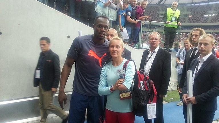 Alicja Fiodorow i Usain Bolt