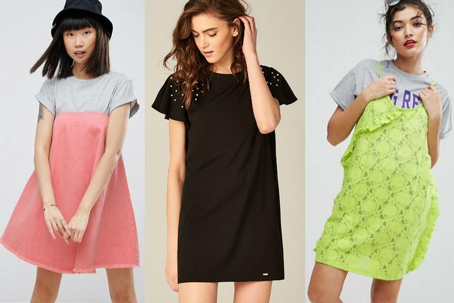 fa7bc33a18 T-shirt dress - sukienka na wiosnę dla dziewczyn
