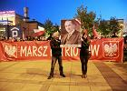 Marsz Patriot�w bez awantur. Ale z petardami i racami