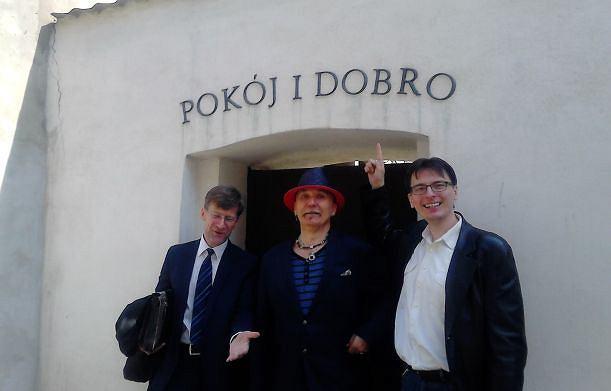Mec. Dariusz Dudek, Wojciech Konikiewicz i Wojciech Wytrążek