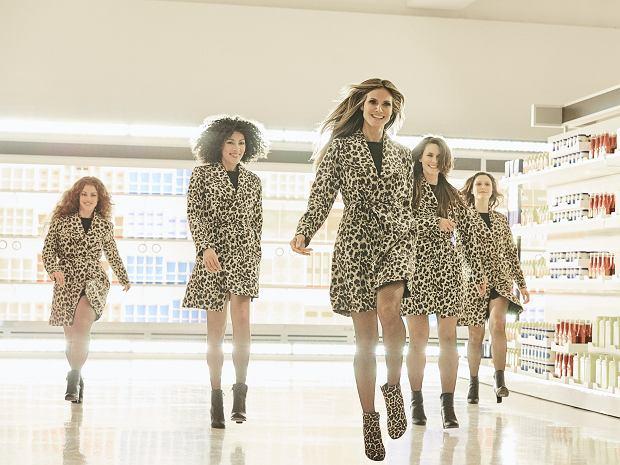 Kolekcja Esmara by Heidi Klum, czyli projekty supermodelki dla Lidl. Zdjęcie z kampanii reklamowej kolekcji