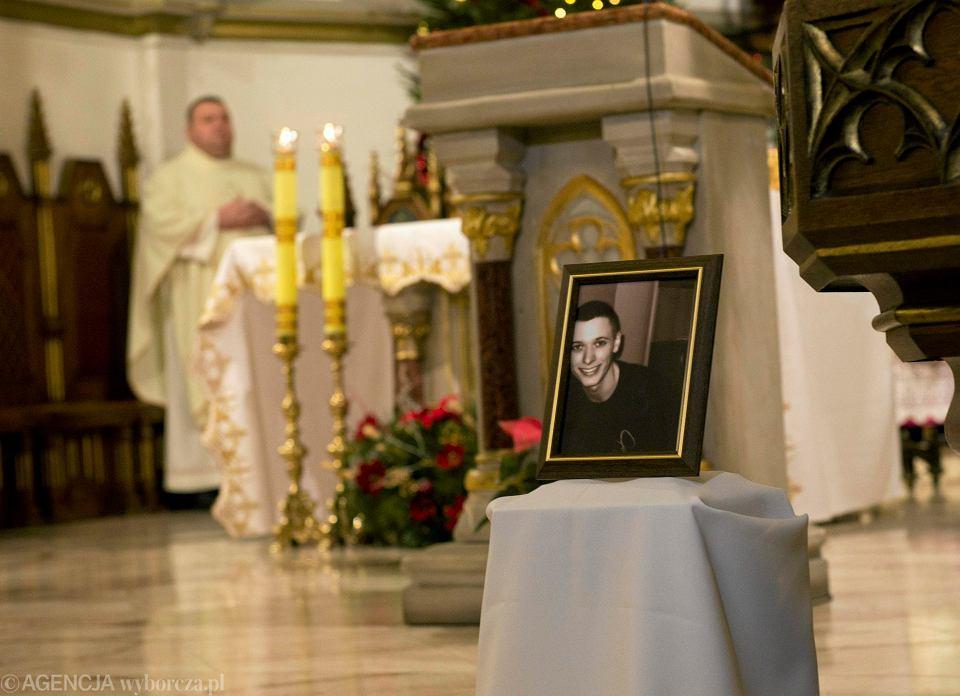 Msza święta w intencji 21-letniego Daniela