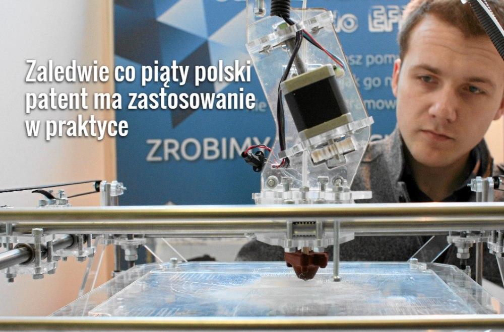 Targi Innowacji w Częstochowie. Prezentacja drukarki do drukowania w 3D firmy Datacomp z Krakowa (fot. Grzegorz Skowronek / Agencja Gazeta)