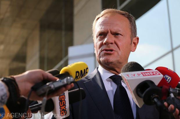 Donald Tusk w Polsce