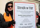 """Część pracowników TVP zastrajkowała przeciwko outsourcingowi. """"Rozbrzmiała syrena alarmowa"""""""
