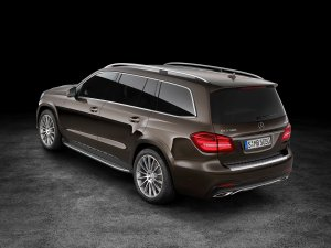 Salon Los Angeles 2015 | Mercedes GLS | Król SUV-ów