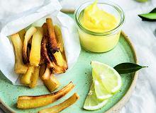 Pietruszkowe frytki z cytrynowym majonezem - ugotuj