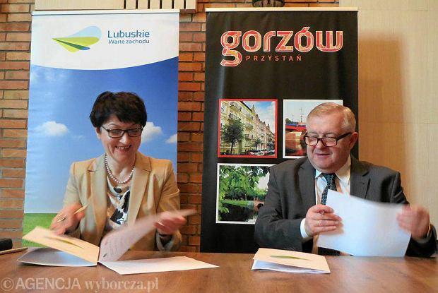 Konferencja prasowa w sprawie czerwcowych Dni Województwa Lubuskiego