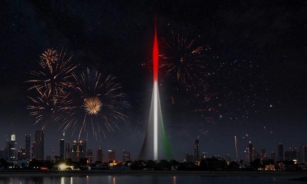"""Trwa budowa najwyższego budynku na świecie. Ma """"pokonać"""" obecnego rekordzistę o całe 100 m"""