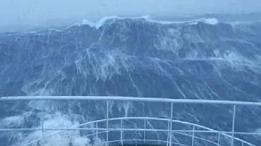 Wielka fala na Morzu Północnym