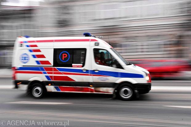Kolejny wypadek na drodze krajowej nr 8. Ranna jedna osoba