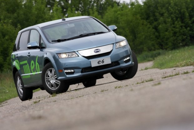 BYD e6 - test | Za kierownic�