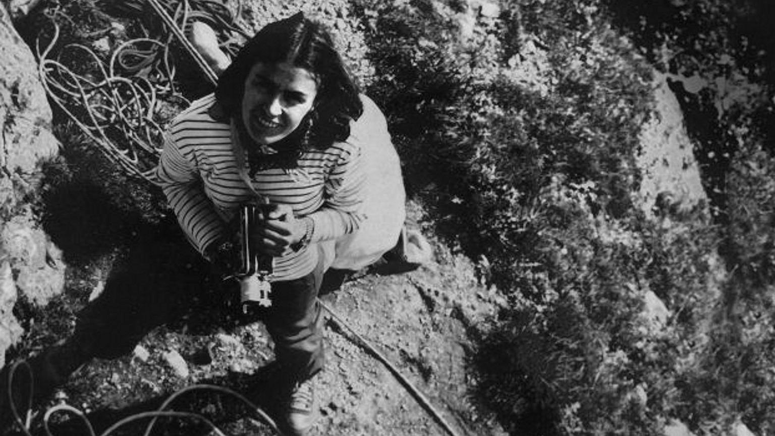 Wanda Rutkiewicz w górach