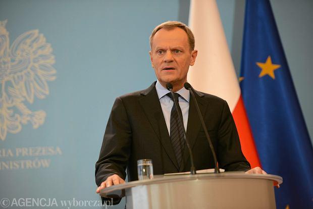 Tusk: �wiat nie jest politycznie gotowy na ewentualn� eskalacj� sytuacji czy rozpad Ukrainy