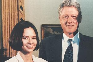 Kinga Rusin, Bill Clinton i Tomasz Lis