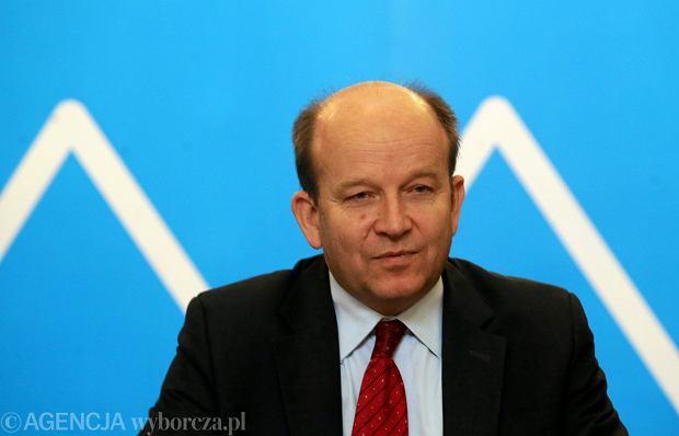 Konstanty Radziwiłł na konferencji podsumowującej rok pracy Ministerstwa Zdrowia